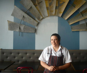 Marjorie Meek Bradley chef at Roofers Union - photo by Astrid Riecken
