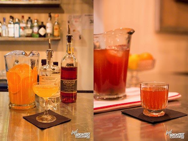Roofers Union Cocktails